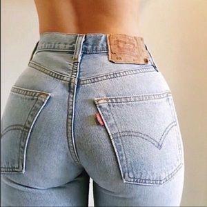 Vintage Levi's 501 High Waist Button Fly Jeans 🦋